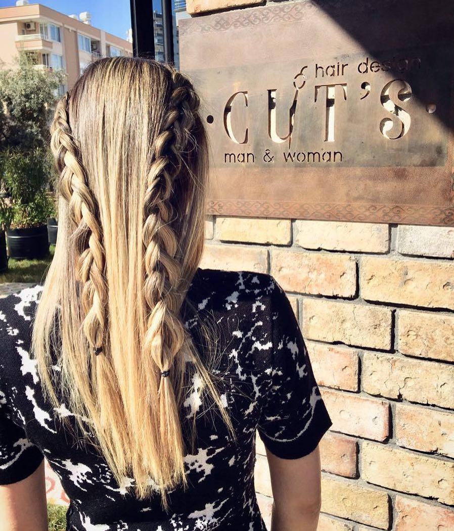 CUT'S Ekibinden en trend saç tasarım görselleri